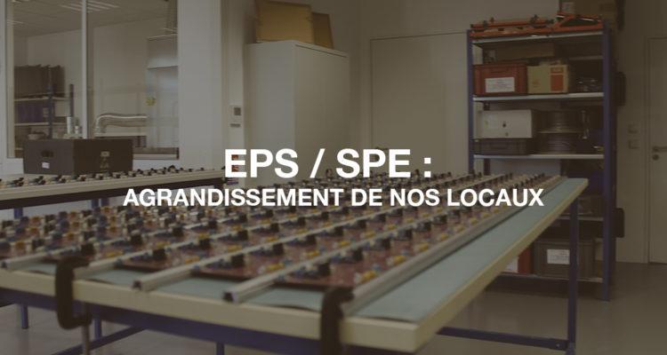 image de EPS/SPE : Agrandissement de nos locaux