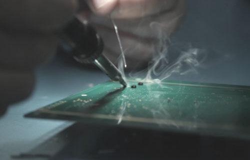 image de Câblage de cartes électroniques