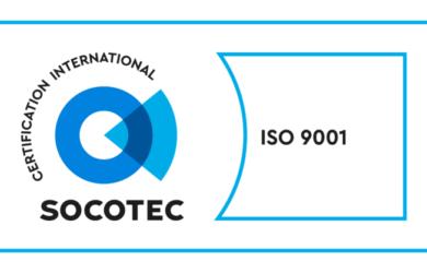EPS/SPE certifiée ISO 9001 : 2015 !