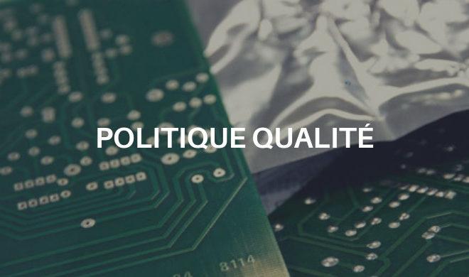 EPS/SPE développe sa Politique Qualité